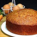 Cómo hacer el mejor y más fácil BIZCOCHO DE ZANAHORIAS O CARROT CAKE - Recetas - Loli Domínguez