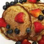COCINA⎜Receta de pancakes de avena y plátano
