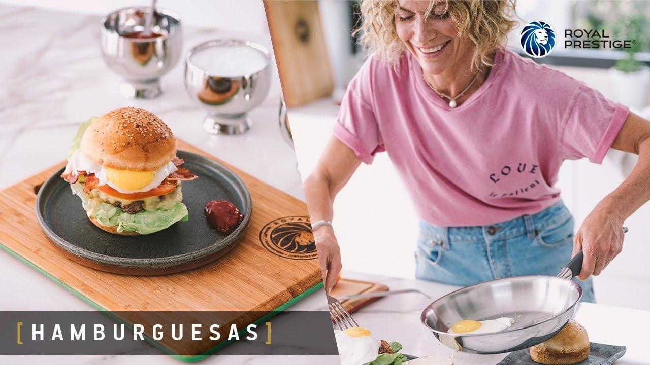 Cocina con Royal Prestige | Receta de Hamburguesas