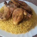 Como hacer arroz con pollo دجاج  بالأرز /comida de marruecos