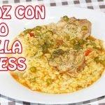 Como hacer arroz con pollo en olla express/Versión mejorada/Maryla y sus Recetas