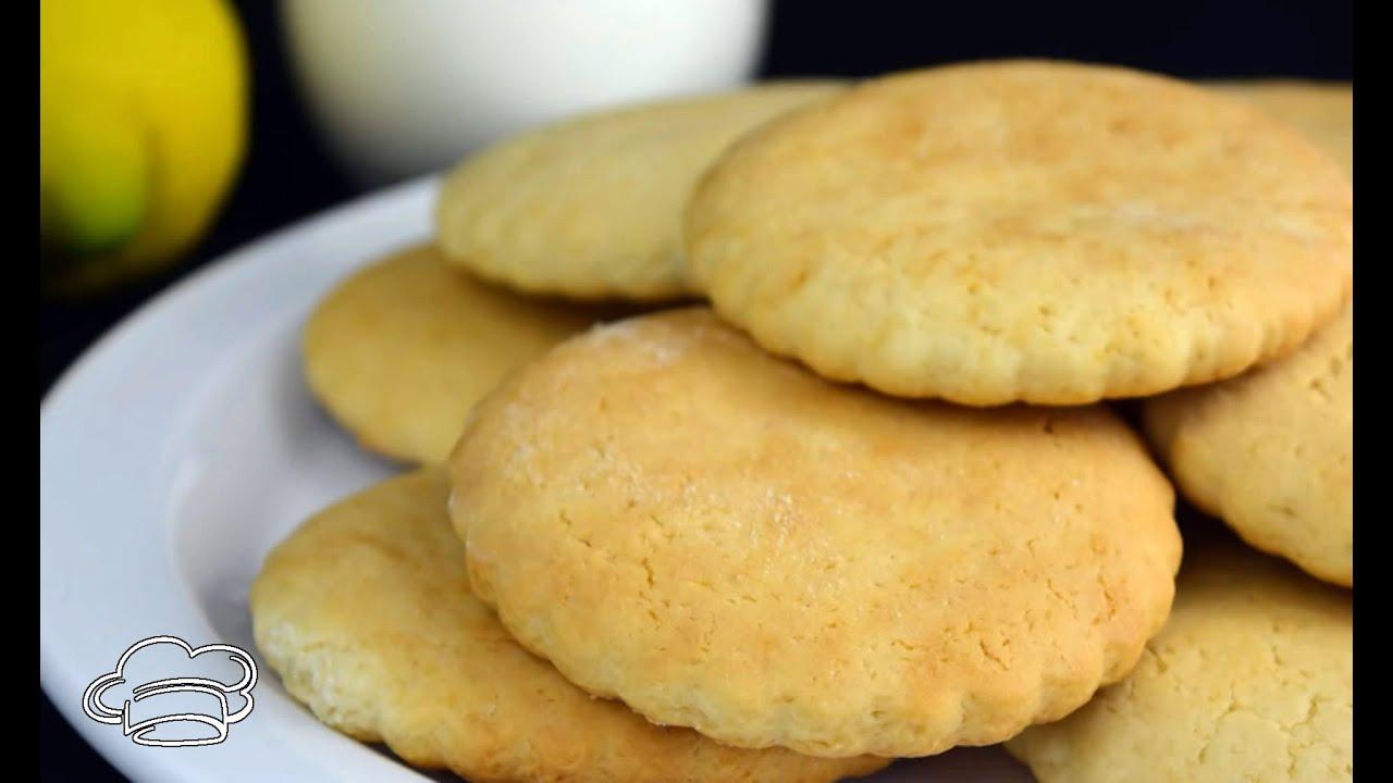 Como hacer galletas de limón, receta fácil para hacer en casa