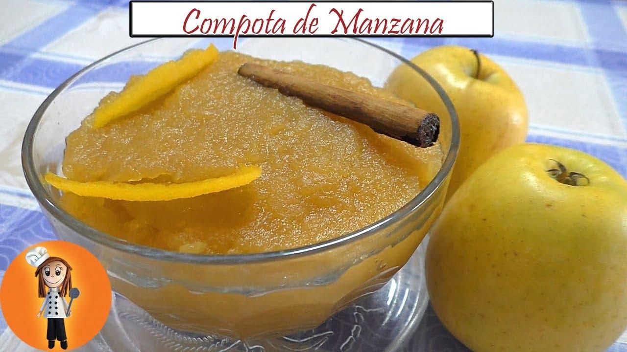 Compota de Manzana   Receta de Cocina en Familia
