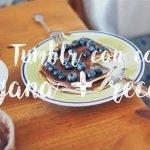 Creando FOTOS TUMBLR con COMIDA VEGANA (NUTELLA/NOCILLA + CREPES) y las RECETAS | Lademenorca