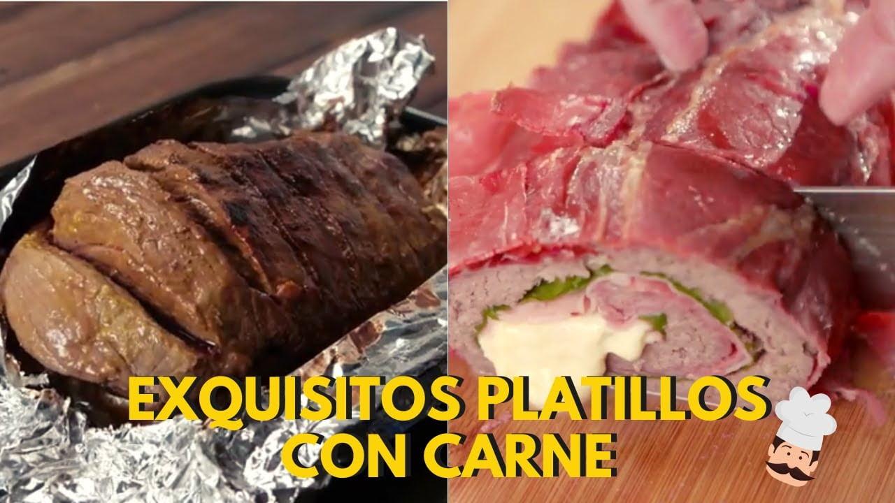 Deliciosas recetas con carne: Platillos fáciles con carne de pollo y res | VIX Yum