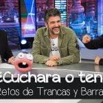 Estopa en apuros con Trancas y Barrancas: ¿La paella con cuchara o con tenedor? - El Hormiguero 3.0