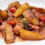 Frito de pulpo - Cocina Abierta de Karlos Arguiñano