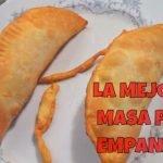 La mejor masa para empanadas fritas del mundo | curso de cocina