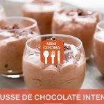 Mousse de chocolate intenso - Recetas Nestlé Cocina
