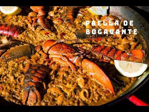 PAELLA DE BOGAVANTE la autentica valenciana Paellas y Arroces  ArturG
