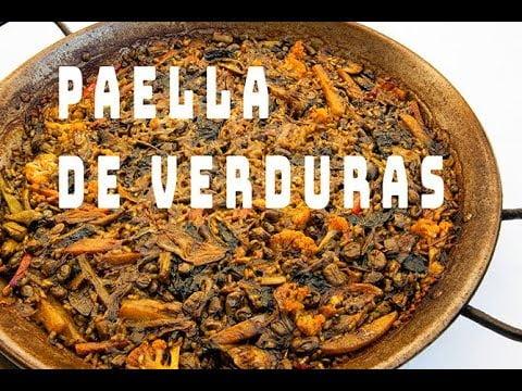PAELLA DE VERDURAS    Receta  tradicional    Paellas y  Arroces   ArturG