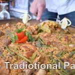 Paella Valenciana, receta tradicional de paella española