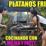 Plátanos Fritos / Fried bananas - Cocinando con MILIXA Y PATTY - Receta de Cocina en EL CAMPO