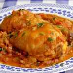 Pollo GUISADO al chilindron - Recetas de cocina faciles y economicas