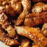 Pollo con sésamo frito al estilo chino - Receta fácil, rápida y económica