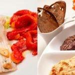 Raya con morrones - Hummus - Cocina Abierta de Karlos Arguiñano