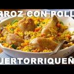 Receta➡ Arroz con Pollo al Estilo Puertorriqueño