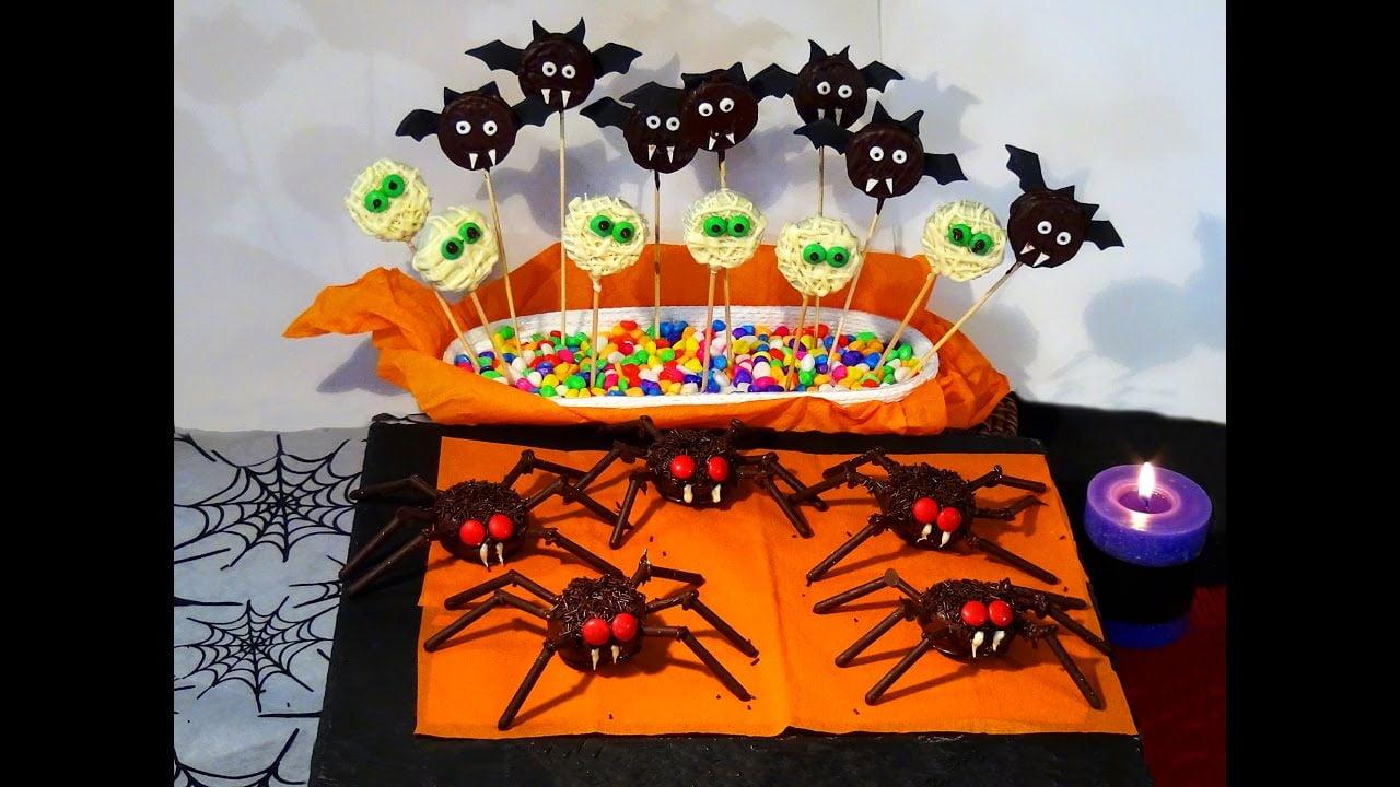 Receta Dulces decorados para Halloween - Recetas paso a paso, tutorial. Loli Domínguez