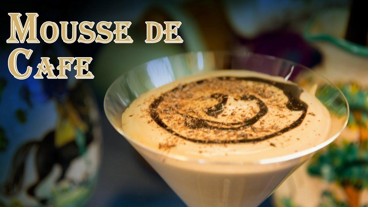 Receta Mousse de Cafe Postre Facil y Rapido