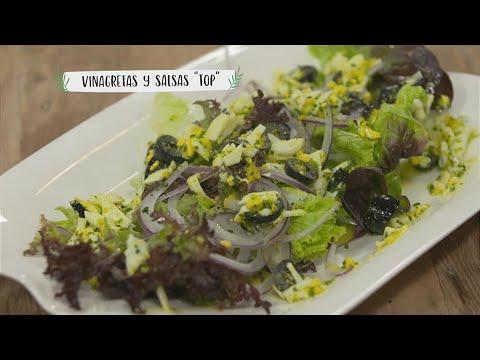 Receta: Vinagretas y salsas 'top'