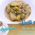Receta de Guiso de pollo con patatas y arroz