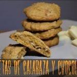 Receta de Halloween: GALLETAS de CALABAZA y CHOCOLATE BLANCO   Cocina al día - Receta #85