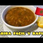 Receta de Harira, sopa tradicional Marroqui   Cocina bnina