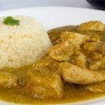 Receta de Pechuga de Pollo en Salsa Verde  Y  Arroz de Coliflor | Apto para diabéticos y KETO