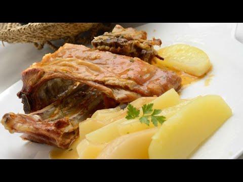 Receta de cordero al horno con patatas - Karlos Arguiñano