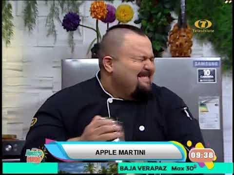 Receta de hoy: Apple Martini