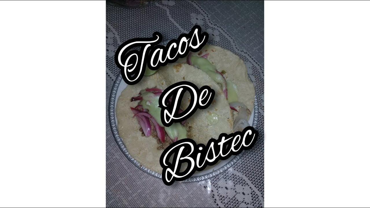 Receta, tacos de bistec facil rápido y delicioso, meraki en la cocina