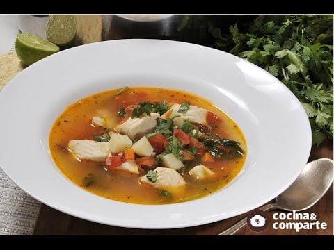 Recetas de sopas y caldos para el frío