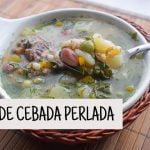 SOPA DE CEBADA PERLADA (Receta Colombiana)