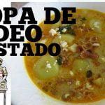 SOPA DE FIDEO TOSTADO ECUATORIANO