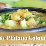 Sopa de Plátano Verde | Cómo Hacer Sopa de Plátano Colombiana | SyS