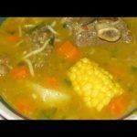 Sopa de carne de Res Dominicana paso a paso|Sopa dominicana
