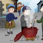 Sopa de piedra |Cuento con valores