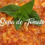 ✅  Sopa de tomate – Receta de Sopa de tomate Andaluza
