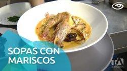 Sopas con mariscos - Día a Día - Teleamazonas