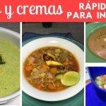 Sopas y cremas rápidas con verduras p/Invierno| Cocina de Addy