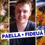 Spanish Food Review - Comer paella valenciana en Valencia, España