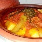 TAJIN DE POLLO CON VERDURAS | Receta Tradicional | Comida Tipica de Marruecos