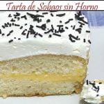Tarta de Sobaos sin Horno | Receta de Cocina en Familia