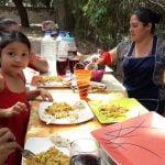Un Delicioso Almuerzo con  Arroz con Pollo parte 3 El salvador 4x4