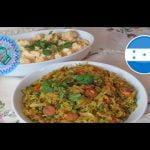 arroz con pollo catracho    , las recetas de anita