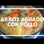 ARROZ AGUADO CON POLLO 🇸🇻( a mi estilo )/ receta SALVADOREÑA 🍲