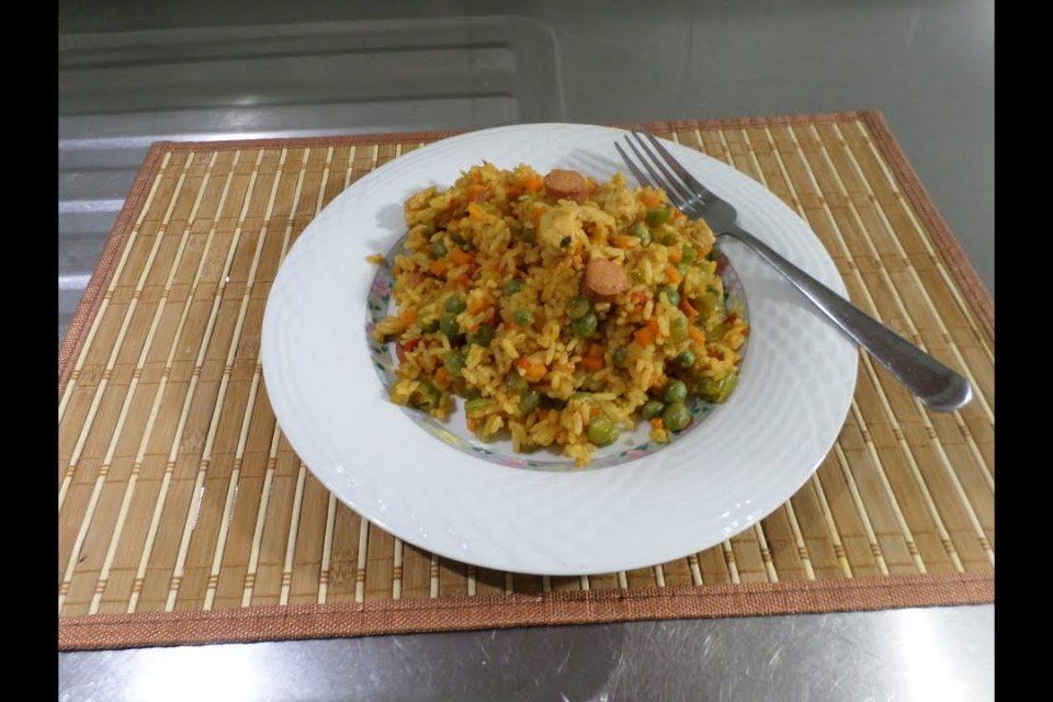 Arroz Con Pollo Y Verduras Recetas Faciles Arroz Con Recetas