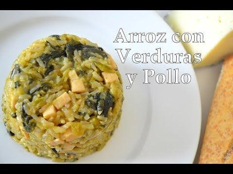ARROZ CON VERDURAS Y POLLO   FUSSIONCOOK FC7Smart