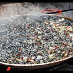 Arroz Negro, Receta paso a paso de Paella de arroz negro y Sepia, Arròs Negre