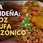Arroz chaufa amazónico como novedosa opción para Nochebuena | Recetas navideñas